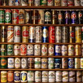 Coleção de latas de cerveja vale 1,6 milhões de dólares